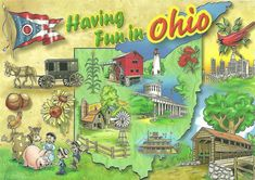19) Ohioans are good sports: Often, you'll catch an Ohioan making fun of their hometown or state, all in good humor. Ohio is a place where the people know that loving their state means embracing their state, flaws and all.