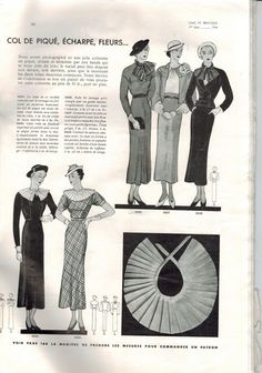 Soyons Chic et Pratiques women's monthly fashion magazine by Condé Nast - May 1934 summer patterns issue - French 30s vintage