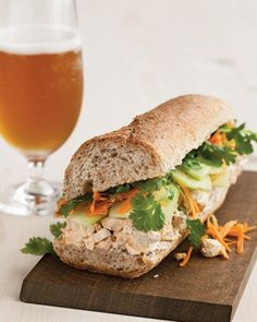Turkey Banh Mi Recipe - made with Thanksgiving leftovers