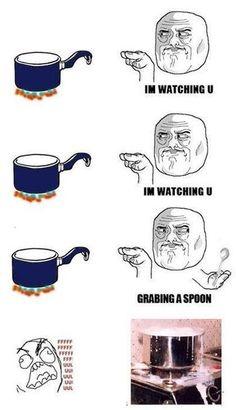 never fails. so annoying.