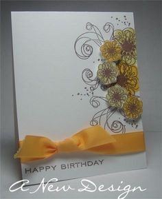 Floral Birthday Card by @Ashley Cannon Newell