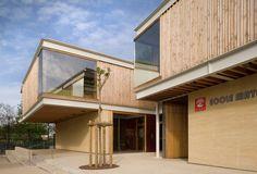 Jean Carrière Nursery School / Tectoniques Architects,© Jerome Ricolleau
