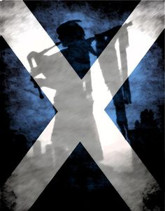 Scotland Flag ~ Flag of Scotland, also known as the Saint Andrew's Cross or The Saltire