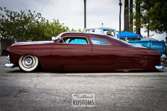 Chopped '49 Ford Kustom at the Mooneyes Mother's Day Show