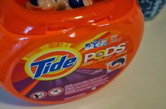 Don't Disturb This Groove: Tide Pods Make Doing Laundry Easier