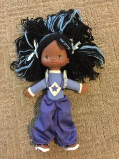 "Vintage #rainbow #brite #purple indigo 10"" doll,  View more on the LINK: 	http://www.zeppy.io/product/gb/2/262423924141/"