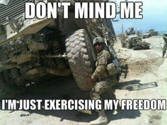 Crossfit Level: Military!