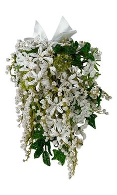 Bouquet with Seed Beads
