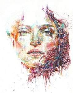 Fall by Carne Griffiths