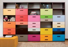 Boxer Bookcase by Dear Kids - very cool!