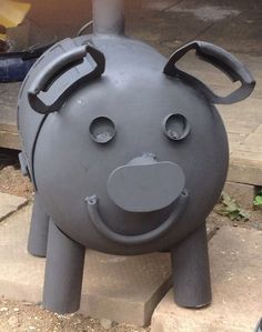 Greedy Pig Rocket Stove/Gas Bottle Woodburner | eBay