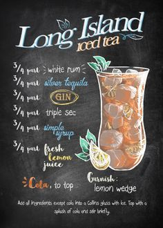 Liquor Drinks, Cocktail Drinks, Alcoholic Drinks, Beverages, Cocktail Recipes, Margarita Cocktail, Frozen Cocktails, Iced Tea Recipes, Alcohol Drink Recipes