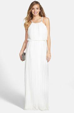 Long White Prom Dress Nordstrom