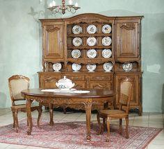 Salle à manger Louis XV | L'Orée du Chêne, fabricant de meubles en Lorraine.