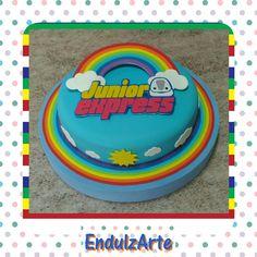 """Junior express"" Junior Express, Cumple Toy Story, Ideas Para Fiestas, Disney Junior, Christmas Wallpaper, Four Square, Birthday, Avengers Birthday, 2nd Birthday"