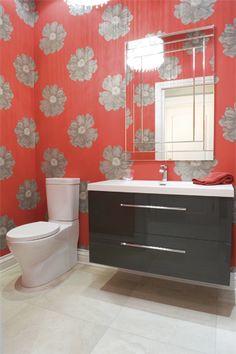 Petites salles d'eau, grandes idées | Les idées de ma maison  #salledebain #salledeau #accessoire