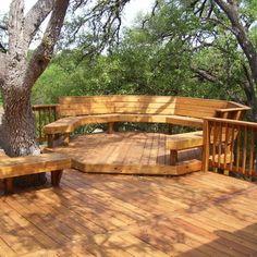 Деревянная терраса своими руками: фото, как построить террасу из дерева к дому