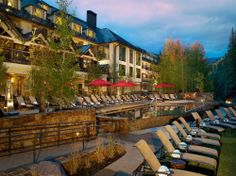 Head to the 78,000-square-foot Aria Spa and Club at the Vail Cascade Resort & Spa for a full range of Alpine-influenced body and beauty treatments.