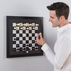Vertical Magnetic Chess Board