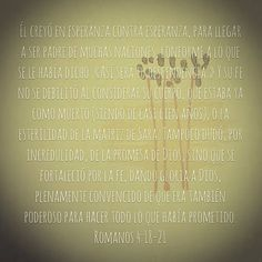 Romanos 4:18-21