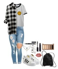 """""""~Blue - Troye Sivan~"""" by tiffanymejia on Polyvore featuring Chicnova Fashion, adidas Originals, Accessorize, Topshop, H&M, Chanel, Urban Decay, Yves Saint Laurent and Lime Crime"""