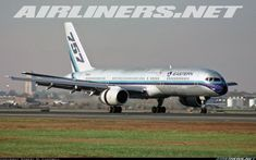 Eastern Airlines Boeing 757-225 during landing rollout at Newark-Liberty