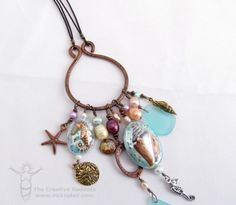 Beach Treasures - Necklace and Earrings