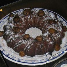 Tarta de chocolate y castañas genial para el frio