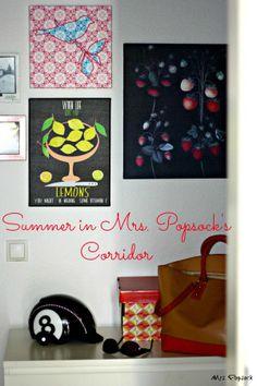 Summer in Mrs. Popsock#s Corridor