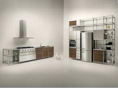 Кухонный гарнитур MECCANICA By VALCUCINE дизайн Gabriele Centazzo