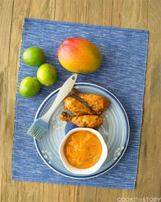 Mango Chipotle Lime BBQ Sauce by www.cookthestory.com