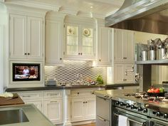 Stainless Steel Kitchen Cabinets: Pictures, Options, Tips & Ideas | Kitchen Designs - Choose Kitchen Layouts & Remodeling Materials | HGTV
