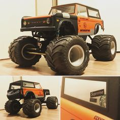The first custom paint job on the RC Patrol Axial Yeti RTR ...