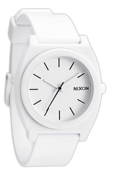 I like this nearly all white watch - but I wonder if it would read as cheap?