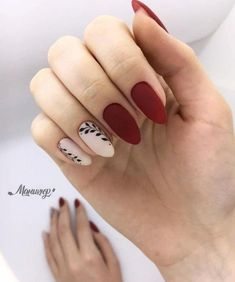 This series deals with many common and very painful conditions, which can spoil the appearance of your nails. But for you, nail technicians, this is not a problem! SPLIT NAILS What is it about ? Nails are composed of several… Continue Reading → Matte Nails, Diy Nails, Acrylic Nails, Red Gel Nails, Red Manicure, Red Nail Art, Burgundy Nails, Manicure Ideas, Stylish Nails