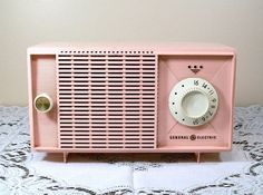Pink Vintage Radio.