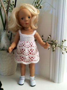 Robe au crochet pour poupées 33 cm Minouche Petit Colin : Jeux, jouets par…