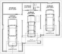 Image Result For 3 Car Tandem Garage Dimensions