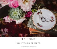 The Be Bold Lightroom Preset Collection is a set of 31 individual Lightroom presets designed to bring you a rich film look. This product is not designed for use with Adobe Photoshop or PS ELEMENTS.  These are LIGHTROOM PRESETS.This is a digital product and as such there are no refunds or exchanges.  Please make certain that you are purchasing the correct product.  Feel free to contact us should you have any questions :)