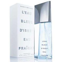 L'Eau Bleue d'Issey Fraiche (men) edt от Issey Miyake Issey Miyake, Star Anise, Athens, Glass Bottles, Fragrance, Liquor, Water Bottle, Perfume, Skin Care