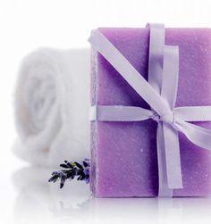 Seife herstellen - Seifen-Rezept: Handgemachte Seife mit Lavendelduft