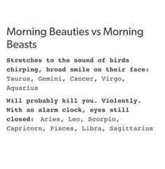 "I would get out a bat and hit the ""singing birds"" with a smile on my face #TAURUS"