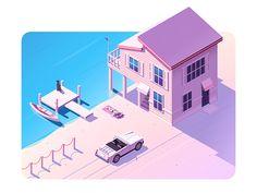 Beach House by Christopher Hebert