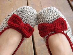 Crochet Slippers for Women.