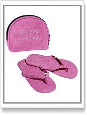 #Bride flip flops