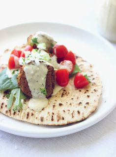 Baked Falafel with Pita | conundrum