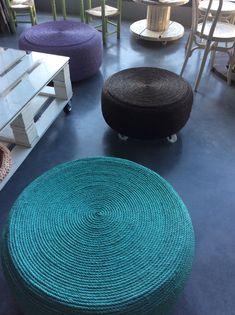 Asientos de cuerda con ruedas