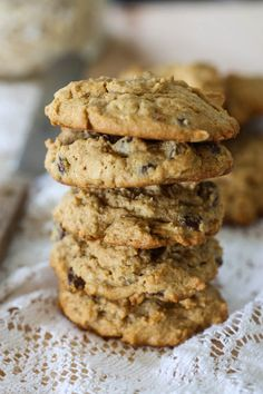 Whole Wheat Peanut Butter Oatmeal Cookies