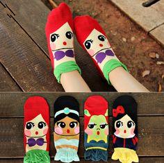 Cheap Venta al por mayor 2015 nueva primavera estereoscópica 3d de algodón coreano lindo para mujer calcetines, meias ocasional estudiante princesa de dibujos animados en calcetines, Compro Calidad Medias directamente de los surtidores de China: