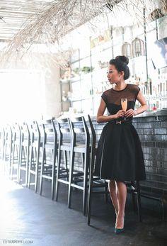 The Little Black Dress (using separates!) | Extra Petite | Bloglovin'